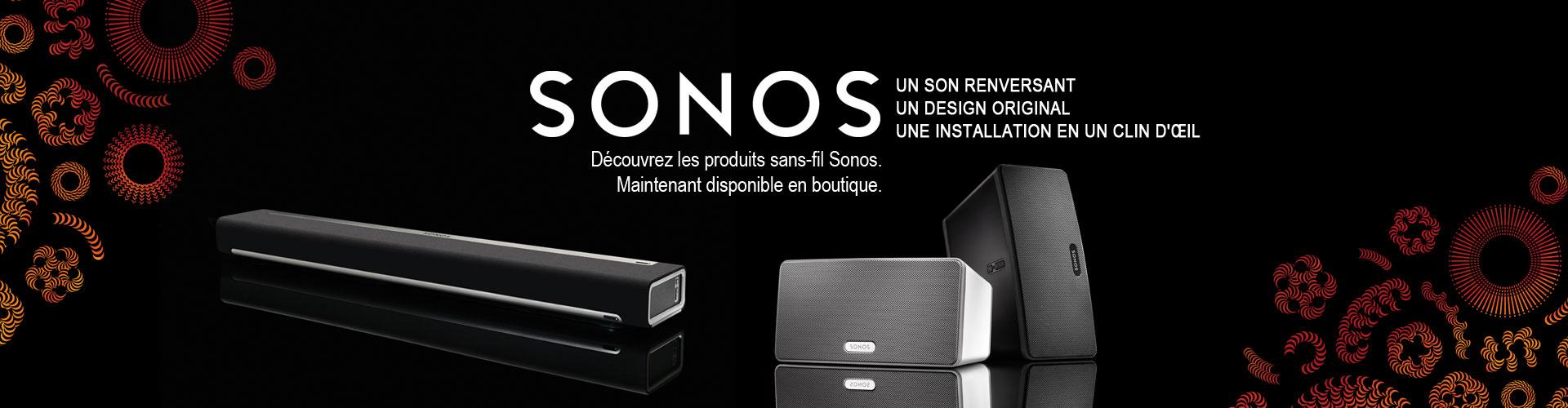 Revendeur Sonos Granby boutique détail